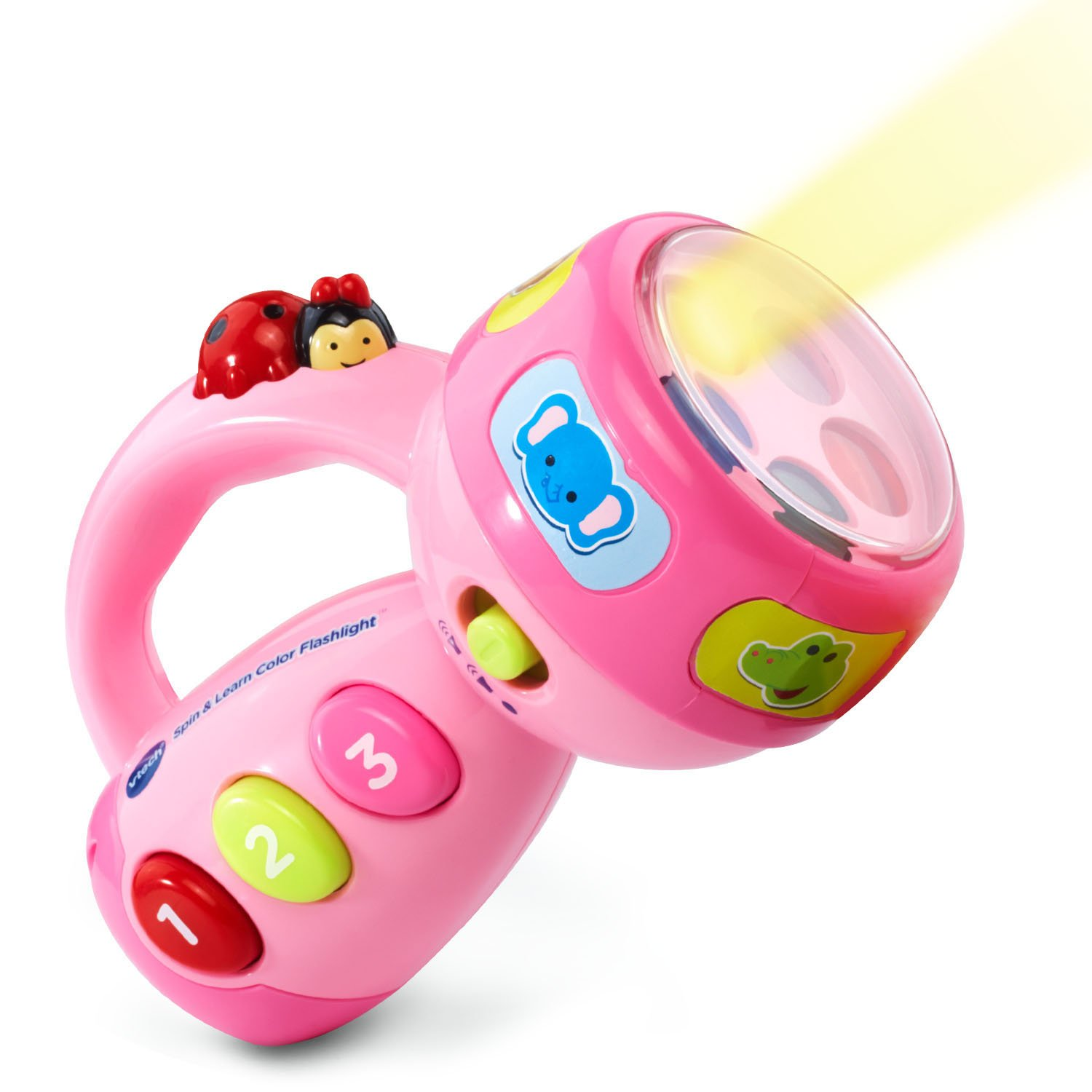 VTech Spin and Learn Color Flashlight Amazon Exclusive, Pink by VTech