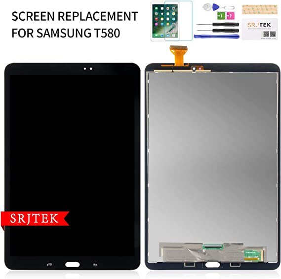 US Front Digitizer Touch Glass Screen For Samsung Galaxy Tab A 10.1 SM-T580 T585