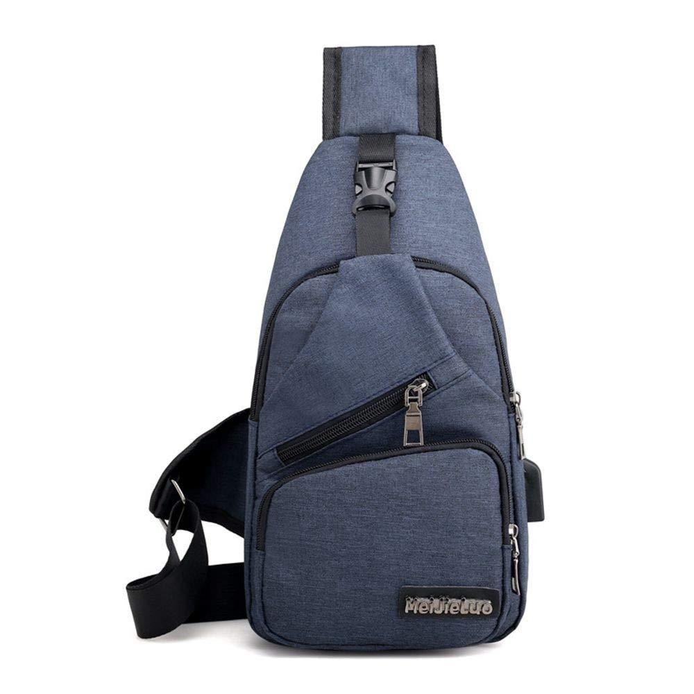 8934d06efd Amazon.com  AILIUJUNBING Male Shoulder Bags USB Charging Crossbody Bags Men  Anti Theft Chest Bag School Summer Short Trip Messengers Bag 2018  Sports    ...