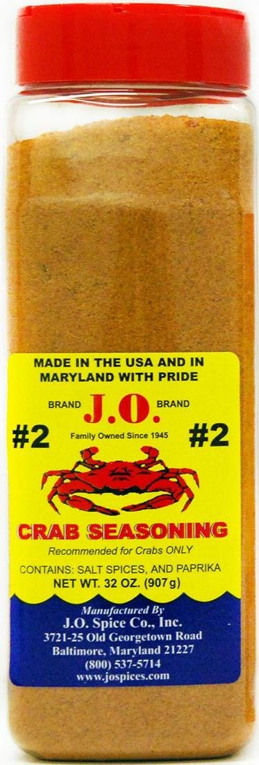 J.O. Crab Seasoning #2 32 Ounce