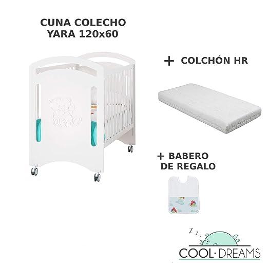 Cuna Colecho Yara 3x1 Convertible En Cama + Kit Colecho + Colchón HR + Kit Follow Me (Desde 0 Hasta 4 Años)