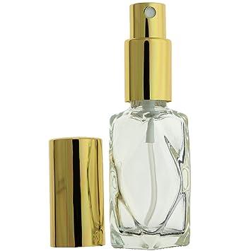 Amazon.com: Botella de cristal reutilizable con purpurina ...