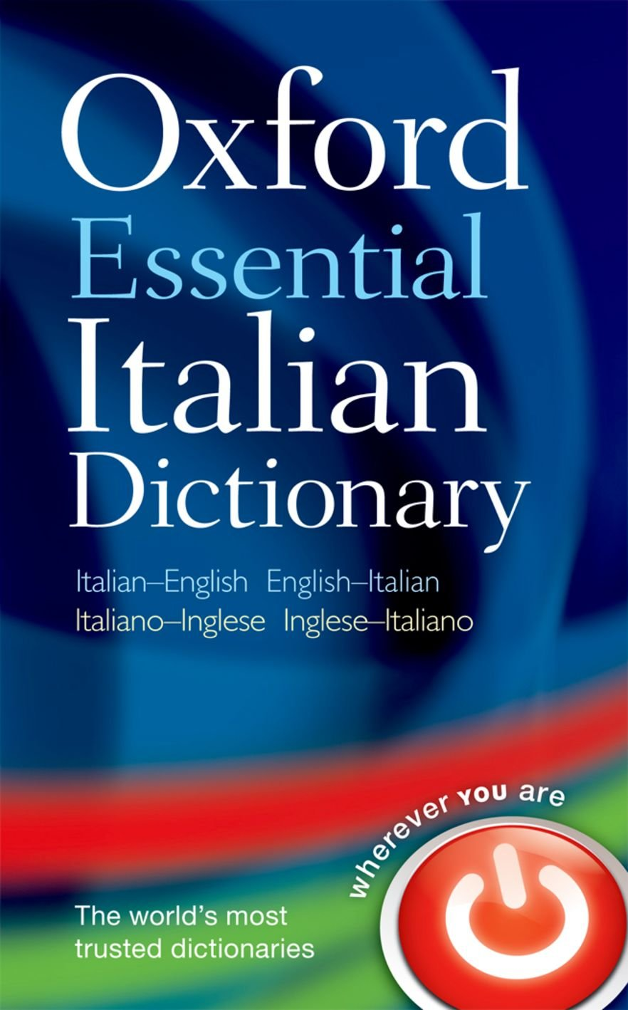 Image result for picture of italian dictionary