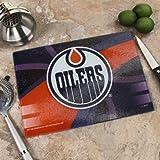 "Memory Company NHL Edmonton Oilers 8"" X 11.75"" Carbon Fiber Cutting Board, One Size, Multicolor"
