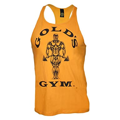 07fa22a7fb704c Amazon.com  PunaFlex Gold s Gym Mens Tank Top …  Clothing