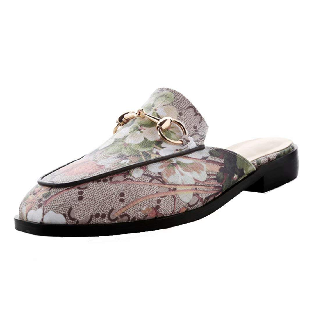 JYshoes Mules 19993 B012OBQCEK Femme JYshoes Grün+blumen 760be2d - digitalweb.space
