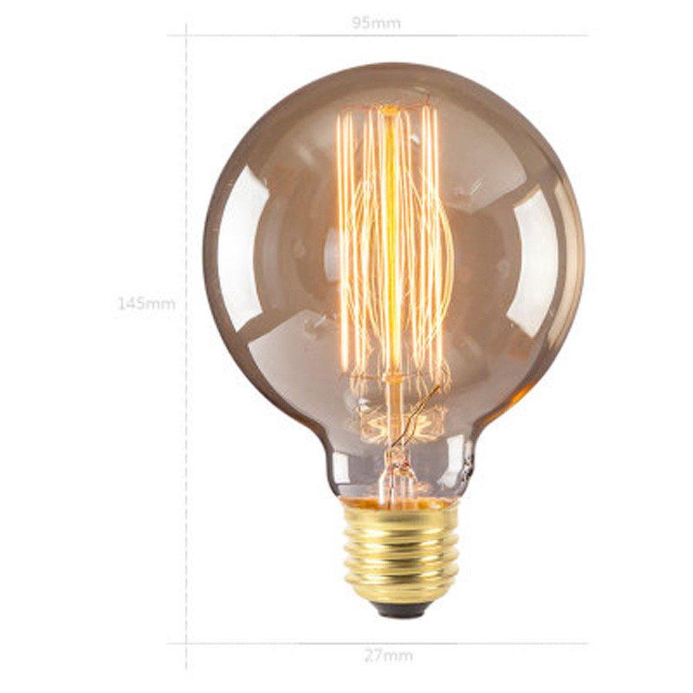 Edison Dimmable Lightbulb Filament Bulb 220v Light Retro Led 240v RjL5q34A