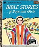 img - for Bible Stories of Boys and Girls - Little Golden Book book / textbook / text book