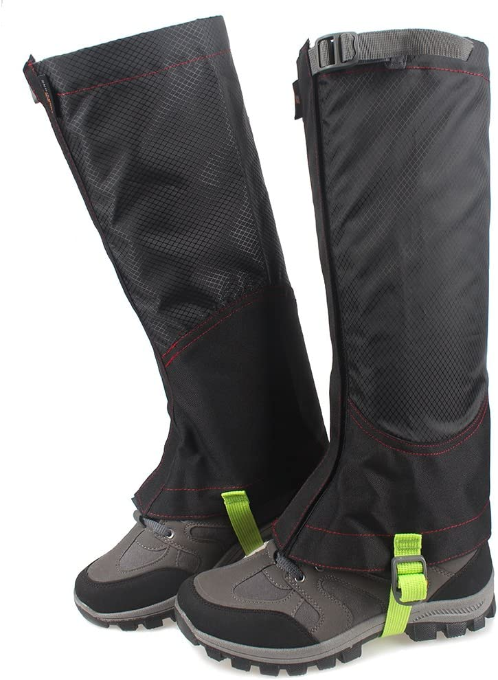MAGARROW Unisex Leg Gaiters Outdoors Hiking Gaiters Snow Gaiters Boots Cover