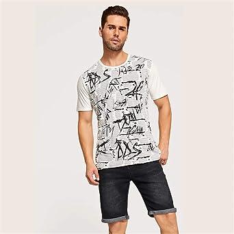 Sunnywill Camisa Casual Tops Camisa Casual Camiseta de diseño de ...