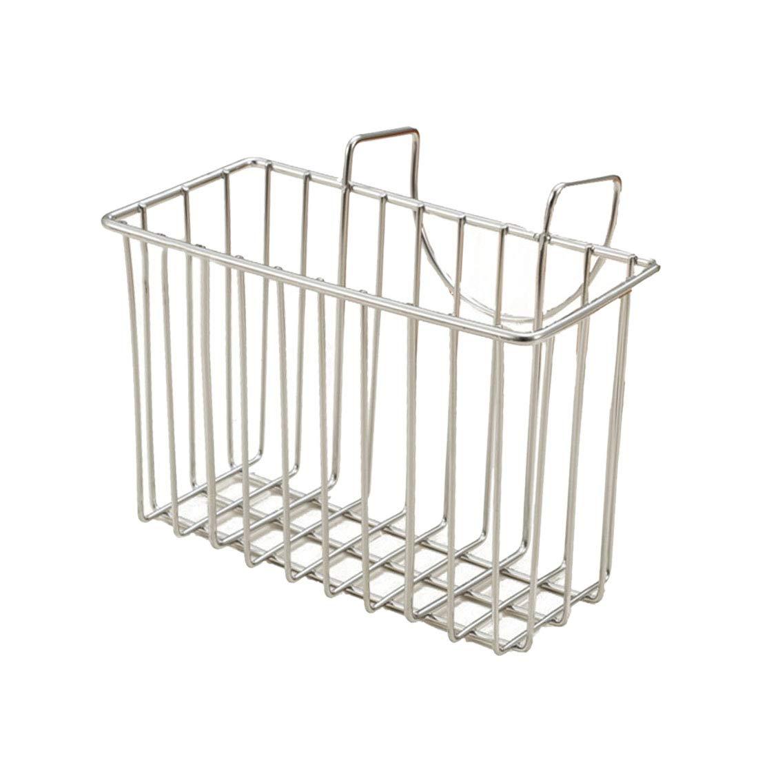 Pinji Stainless Steel Kitchen Sink Hanging Basket Draining Sponge Holder