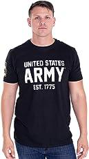 BROOKLYN VERTICAL US Army T-Shirt est. 1775 - U.S Military Training Men Shirt with Sleeve Print