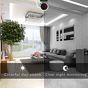 """Outdoor Security Camera,1/4""""CMOS WIFi Camera Outdoor,720P Wireless IP Camera with IR Night Vision,Surveillance Video Camera with Motion Detection,IP66 Waterproof Bullet Camera for indoor&outdoor,4sdot"""