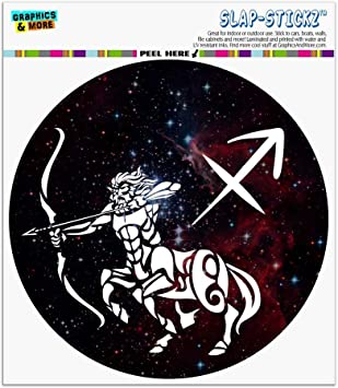 Sticker decal zodiac astrological astrology sign car vinyl archer sagittarius
