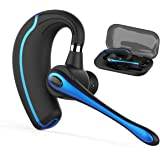 Bluetooth Headset,Wireless Earpiece V4.1Hands Free Microphone for Business, Office,Driving,Work for iPhone/Samsung/Android Cell Phones