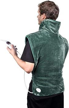 3 Tempera... NEWSUMIT Heizkissen Nacken Schulter und Rücken Schmerzlinderung