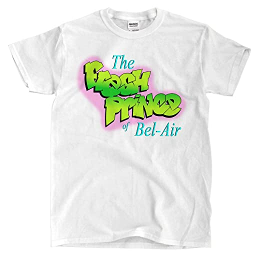 94006b4a7 Amazon.com  Fresh Prince of Bel-Air - White T-Shirt  Clothing