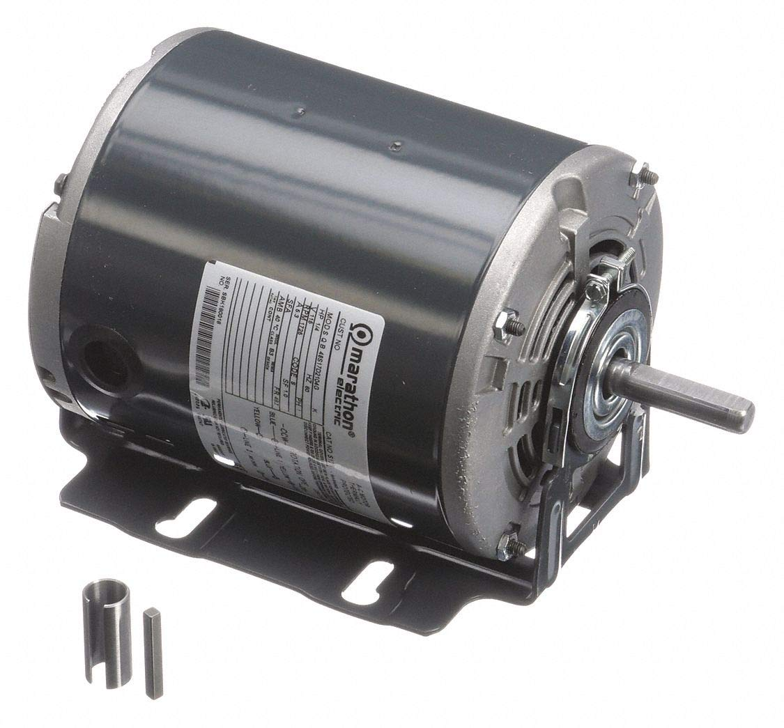 Marathon Motors 1//4 HP General Purpose Motor,Split-Phase,1725 Nameplate RPM,Voltage 115,Frame 48Z
