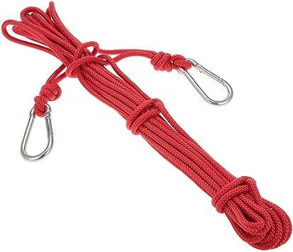 Docooler 6mm * 10m Cuerda de Seguridad Cuerda de Escalada