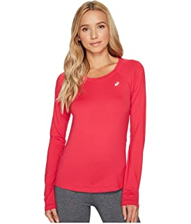 e28c1485bfe6 Amazon.com   ASICS Womens Circuit 8 Warm-Up Long Sleeve   Sports ...