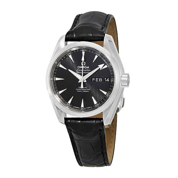 Omega Seamaster Aqua Terra - Reloj para Hombre con cronómetro automático, Esfera Negra 231.13.39.22.01.001: Amazon.es: Relojes