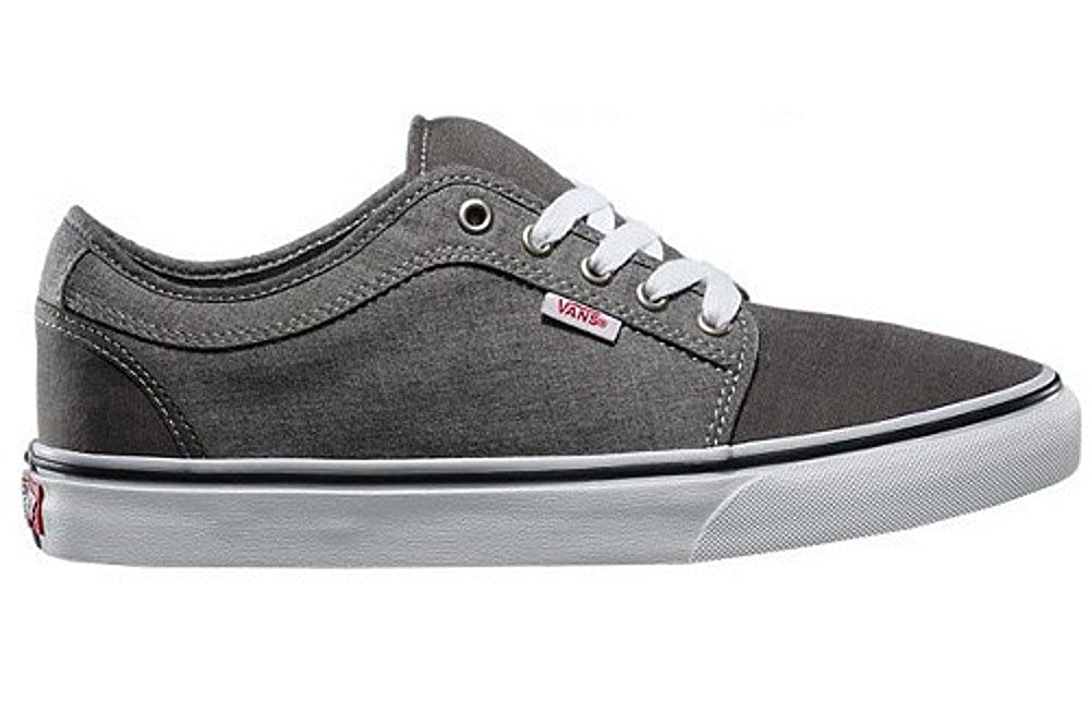 VANS Chukka Low Mens Size 6.5   Womens Size 8 Chambray Black Grey  Skateboarding Fashion Shoes  Amazon.ca  Shoes   Handbags 695bb1e63