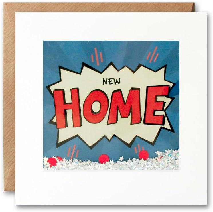 PK2667 New Home Kapow Shakies Card James Ellis