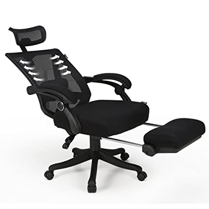 Office Reclining Chair On Hbada High Back Ergonomic Computer Desk Office Mesh Recliner Chair With Footrest Amazoncom