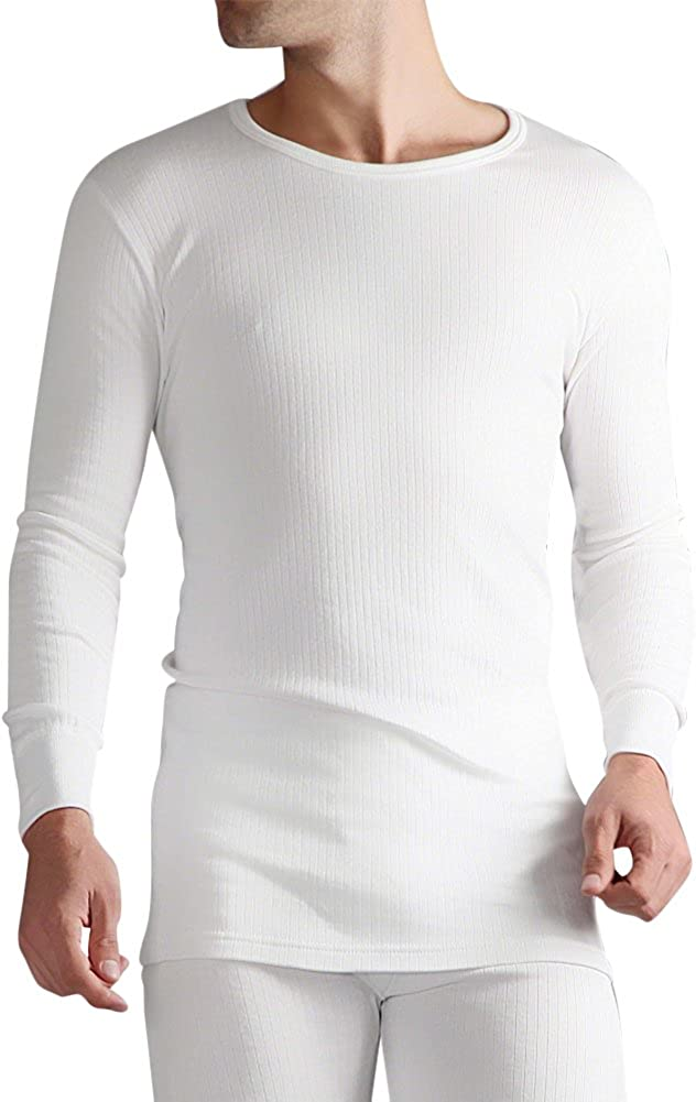 Heat Holders - Mens Winter Warm Thermal Underwear Long Sleeve Vest Top Shirt