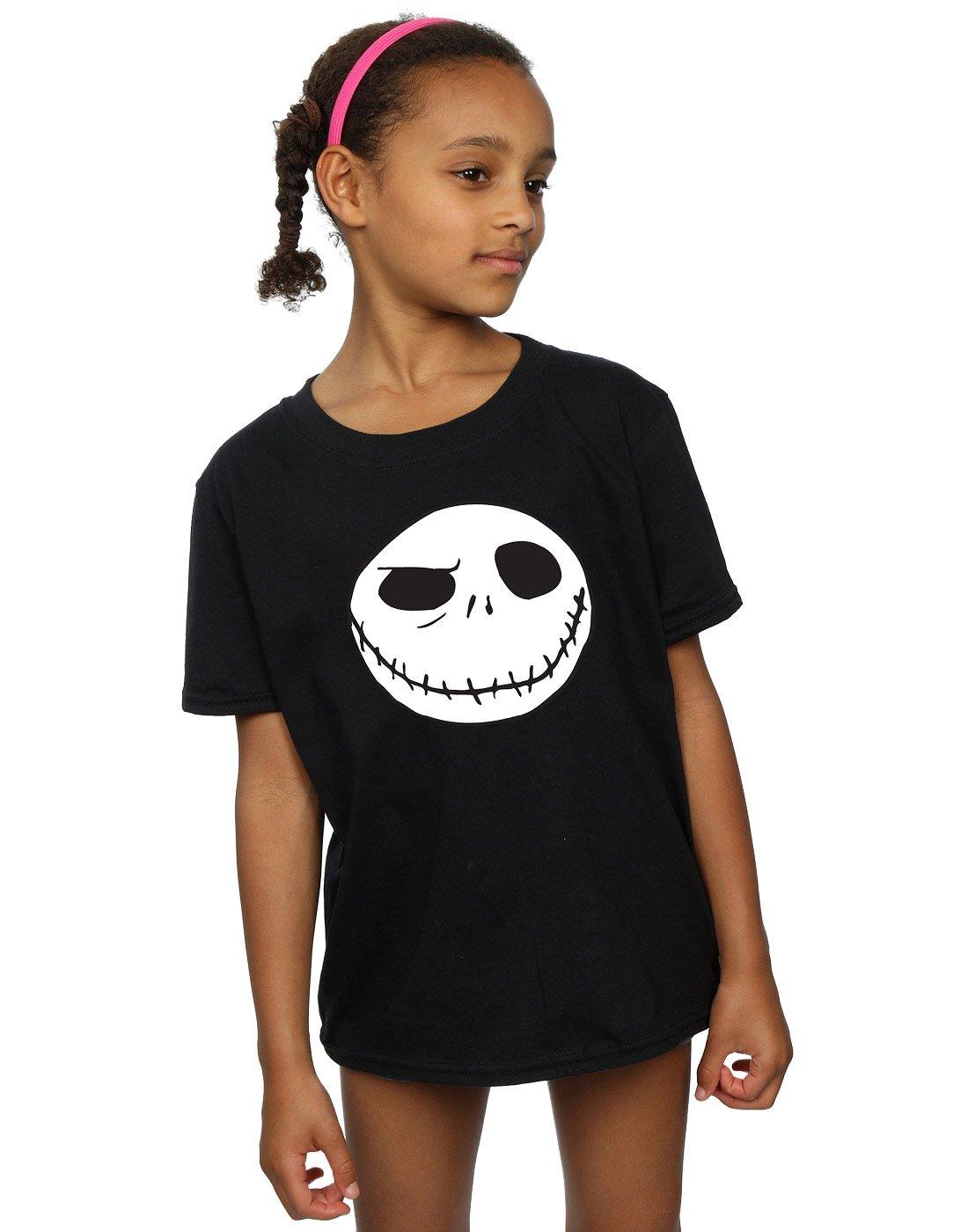 Girls Nightmare Before Christmas Jack S Big Face Shirts