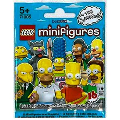 LEGO The Simpsons Collectiable Minifigure - Grampa Gandpa with Newspaper (71005): Toys & Games