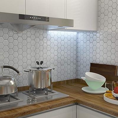 Buy Peel And Stick Tile Backsplash For Kitchen Stick On Tiles Kitchen Backsplash Tile Stick On Backsplash Adhesive Backsplash For Kitchen Bathroom Rv 10 5 X 10 5 4 Sheets Online In Turkey B07pgc8rvt