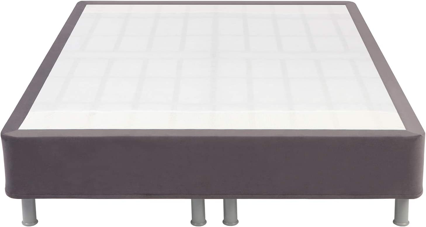 Comfort Revolution Easy All-In-One Steel Mattress, Metal Foundation, Stainless Steel, Full