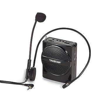 Amplificateur Portable de voix Takstar E188M - Amplificador de voz portátil, color negro