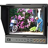 Delvcam 9.7in Dual Input HDMI Monitor With Advanced Function - With Case (DELV-HDSD-10)