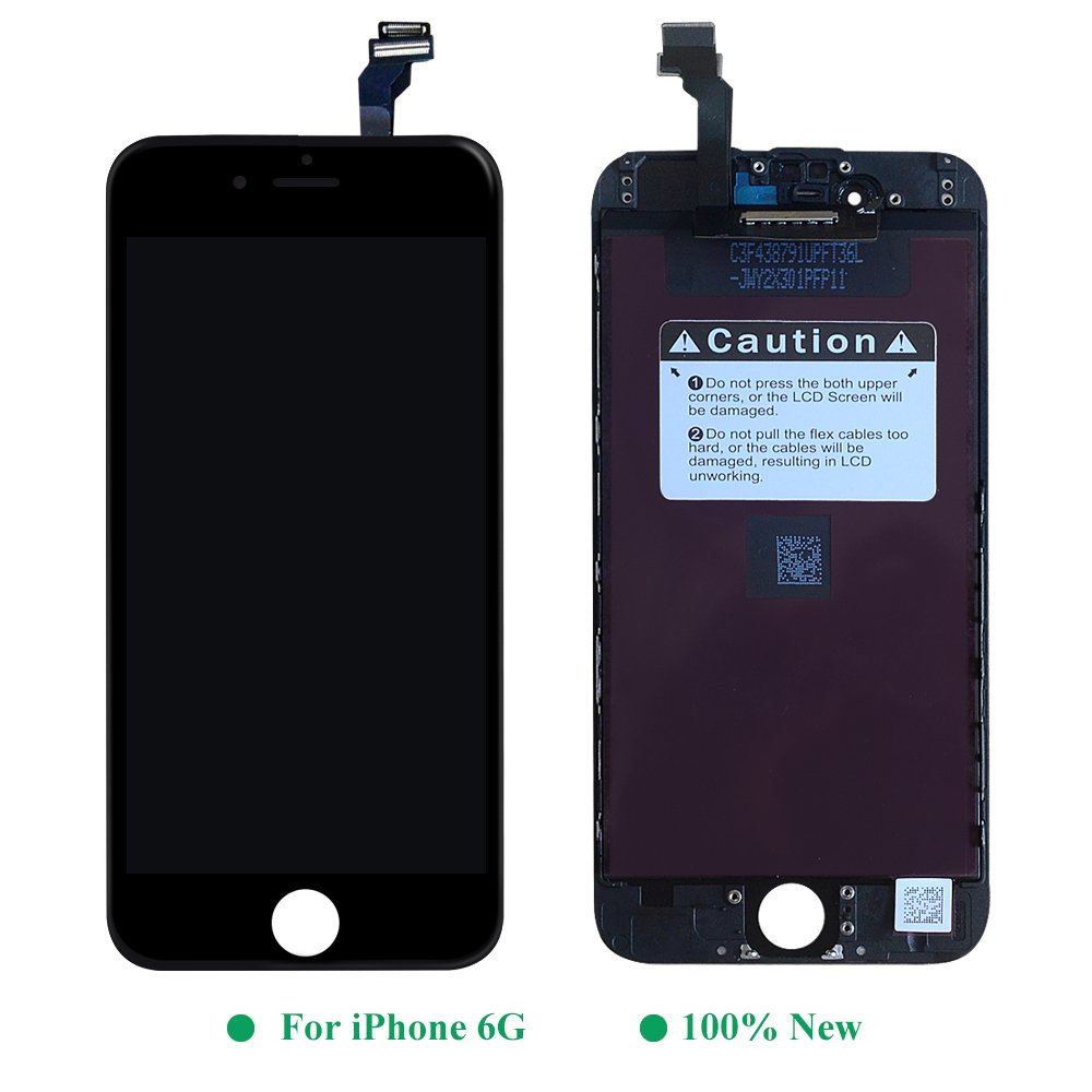 Htechy Compatible für iPhone 6 LCD Komplettes Display Compatible für ...