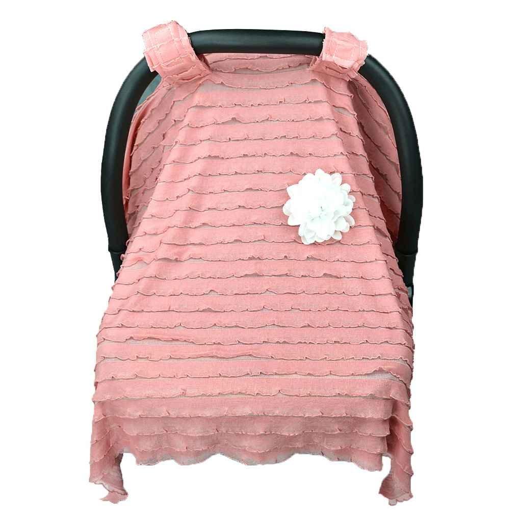 Mengonee Traspirante Passeggino Parasole Nursing Newborn Buggy Canopy Bambino Passeggino Infante copertura Carrozzine Vento Sole