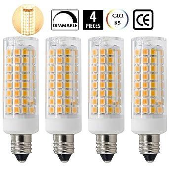 LED E11, nuevo (102LEDs) E11 LED bombillas, 7 W equivalentes a 75