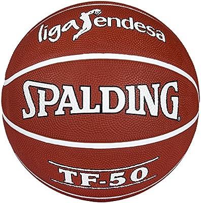 Spalding ACB Tf50 Outdoor Sz.7 73-896Z Balón de Baloncesto, Unisex ...