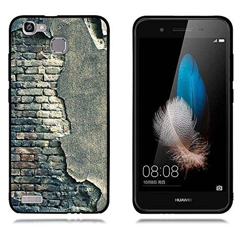 Funda Huawei Enjoy 5s GR3 G8 mini, FUBAODA [Flor rosa] caja del teléfono elegancia contemporánea que la manera 3D de diseño creativo de cuerpo completo protector Diseño Mate TPU cubierta del caucho de pic: 19