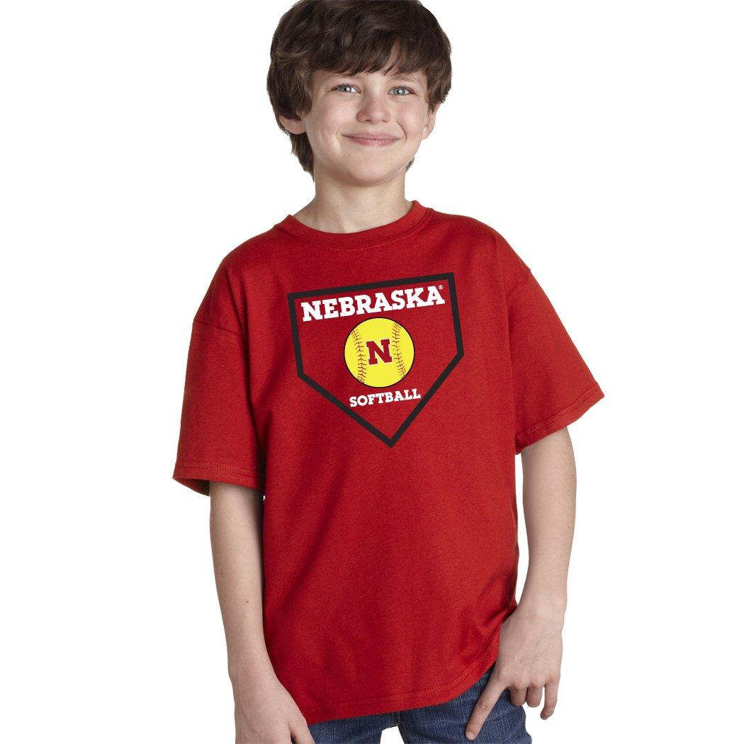 【50%OFF】 Nebraska B01DWVS7N0 Teeシャツ CornhuskersソフトボールホームプレートユースBoys Teeシャツ Small Nebraska B01DWVS7N0, 小川村:5b96c9e6 --- a0267596.xsph.ru