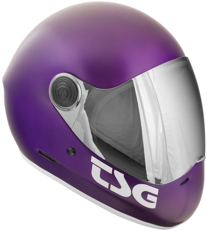 TSG Pass Helmet - Purple, X Large