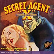 Secret Agent X #14: Talons of Terror | Emile C. Tepperman