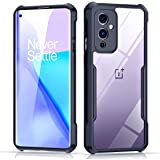 Xundd Case for OnePlus 9 (6.55 Inch) with Integrated Camera Cover, [Military Grade Drop Tested] Slim Clear Back with Shockpro