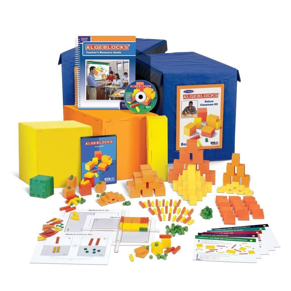 ETA hand2mind Algeblocks Deluxe Classroom Kit