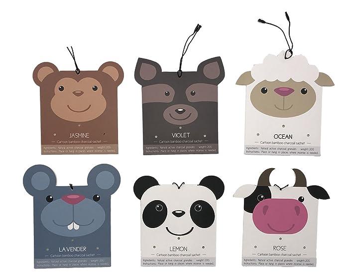 Amazon.com: Bolsitas perfumadas animales fragancia para el ...