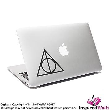Deathly Santifica Ordenador Portátil Calcomanía Harry Potter Macbook Pegatina by Inspired Walls®: Amazon.es: Electrónica
