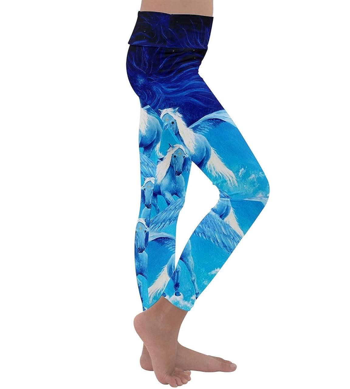 d581a3b1b Amazon.com: PattyCandy Big Little Girls Soft Tights Fierce Lion Face Animal  Prints Kids Lightweight Velour Yoga Leggings: Clothing
