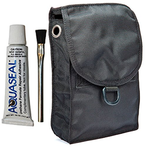 XS Scuba Dry & Wetsuit Glue-On Thigh Pocket ()