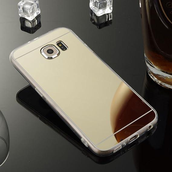 new styles 05349 a44f0 Amazon.com: FastSun Luxury Ultra-Thin Silicone Gel TPU Mirror Case ...